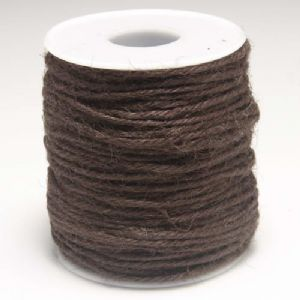 Unwaxed hemp cord, Hemp, brown, 10m, Diameter 2mm, [LMS0028]